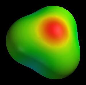Hydroxonium-3D-elpot